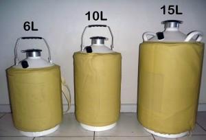 Liquid nitrogen dewar- Cryogenic flask 10L