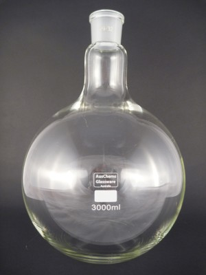 Flat bottom boiling flask 1 neck 29/32 3000mL