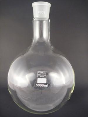 Flat bottom boiling flask 1 neck 40/38 5000mL