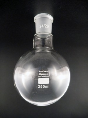 Round bottom boiling flask 1 neck 24/29 250mL